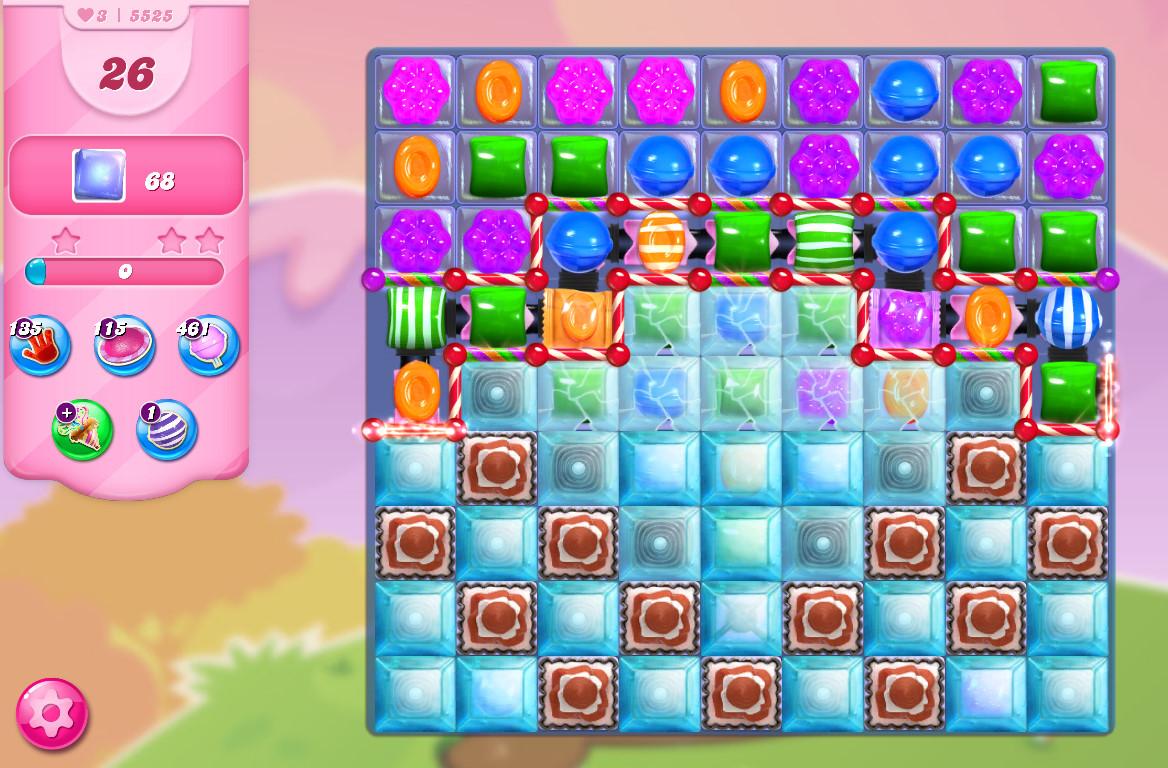 Candy Crush Saga level 5525