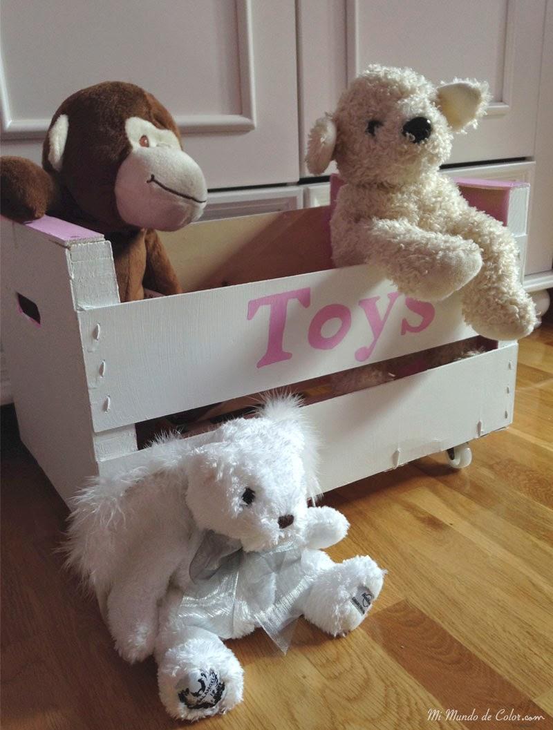 haz tu mismo caja de juguetes para niños
