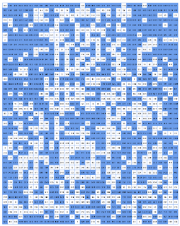 gridded dungeon map with prime-number rule applied