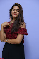 Pavani Gangireddy in Cute Black Skirt Maroon Top at 9 Movie Teaser Launch 5th May 2017  Exclusive 081.JPG