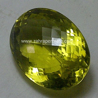 Batu Permata Lemon Quartz - ZP 440