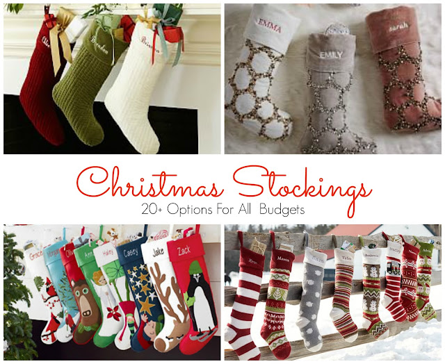 Happy Healthy Home: Shopping Guide | Christmas Stockings
