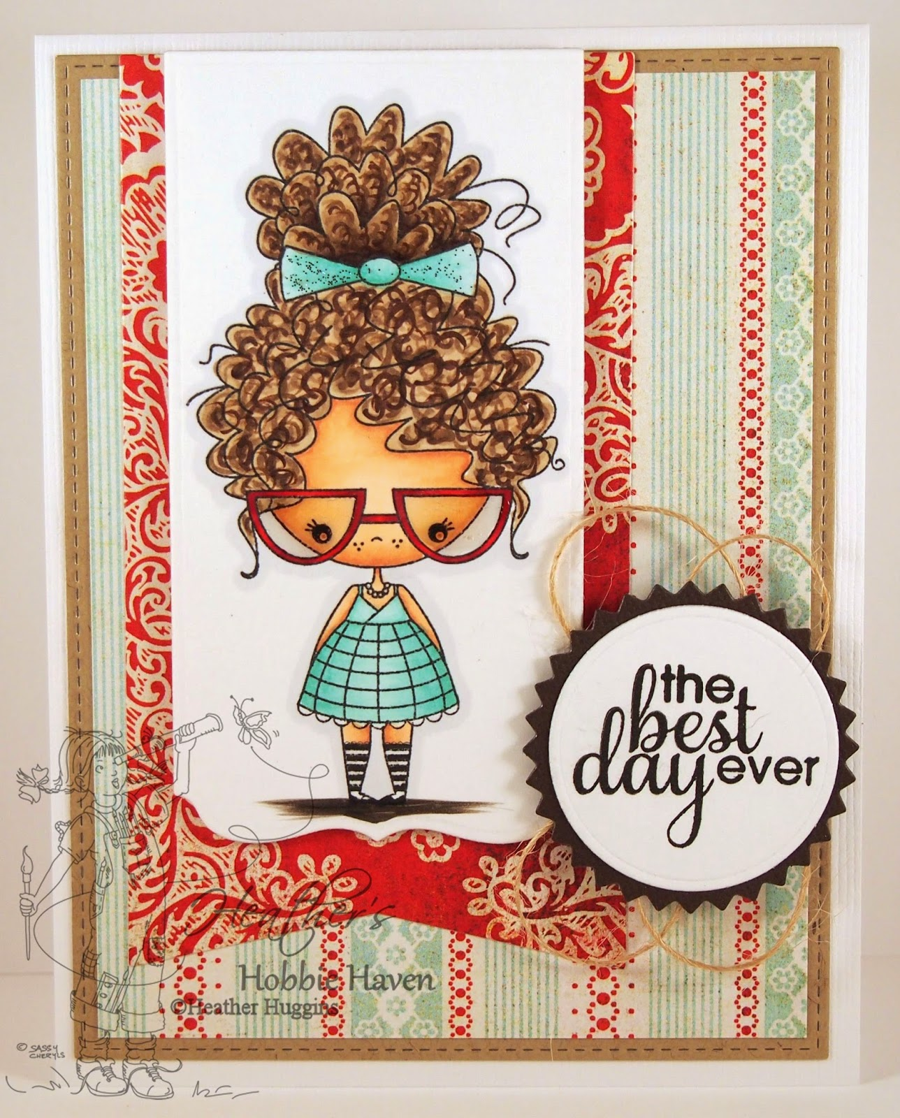 Heather's Hobbie Haven - Anastasia Card Kit