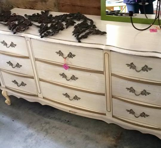 Dipped Rose Gold Dresser Lily Field Co