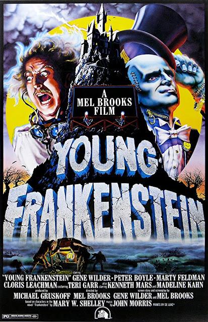 Póster película El jovencito Frankenstein