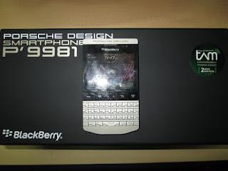 hape seken blackberry Porsche P'9981