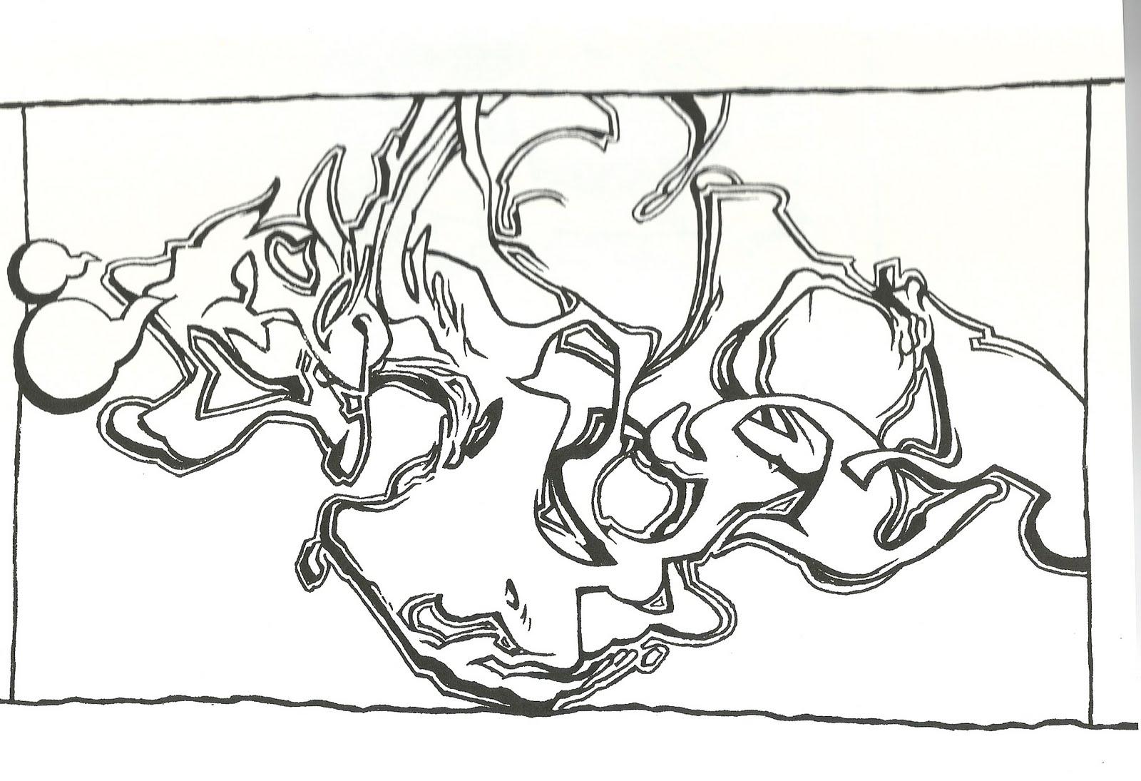 disegni da colorare: DISEGNI DA COLORARE STREET ART
