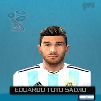 PES 6 Faces Eduardo Salvio by Gabo Facemaker
