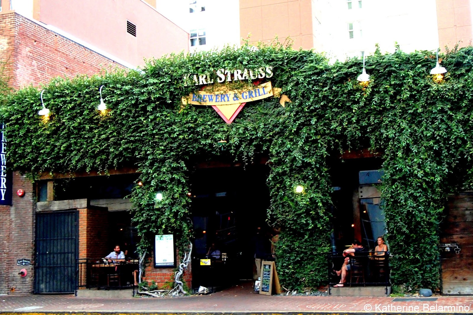 Karl Strauss Brewery Restaurant Downtown San Diego