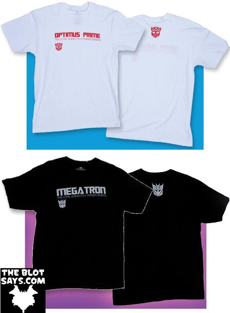 The Loyal Subjects x Transformers T-Shirt Collection Series 1 - Optimus Prime & Megatron