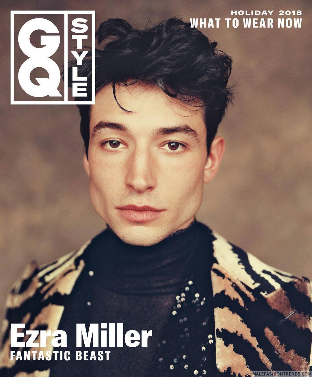 Ezra Miller para GQ Style Holiday por Yoshiyuki Matsumura