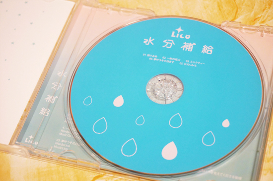 NONtic CDデザイン
