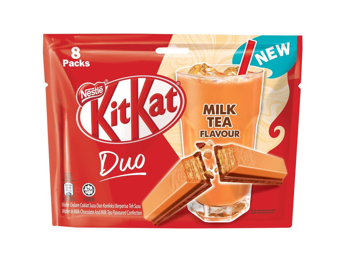 Kitkat Teh Tarik ~ Wordless Wednesday