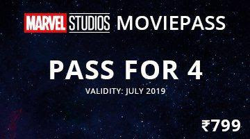 Paytm Marvel movie pass for 4 persons