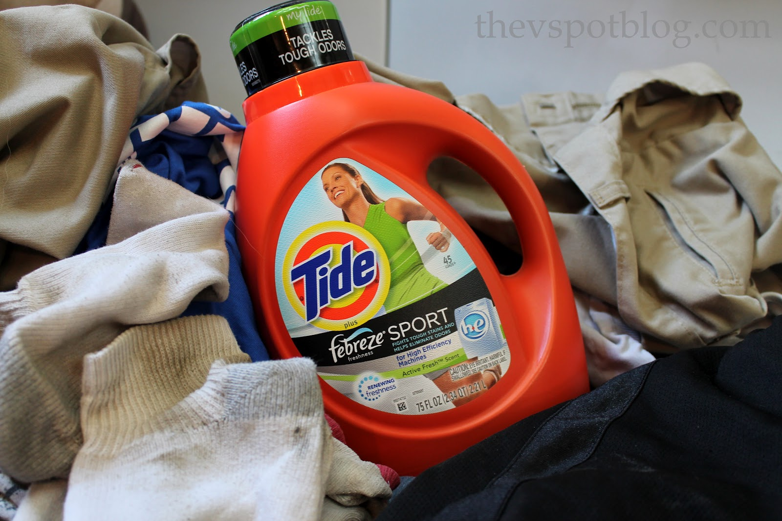 Tide Selector Quiz Helped Me To Un Stink The Boys Laundry