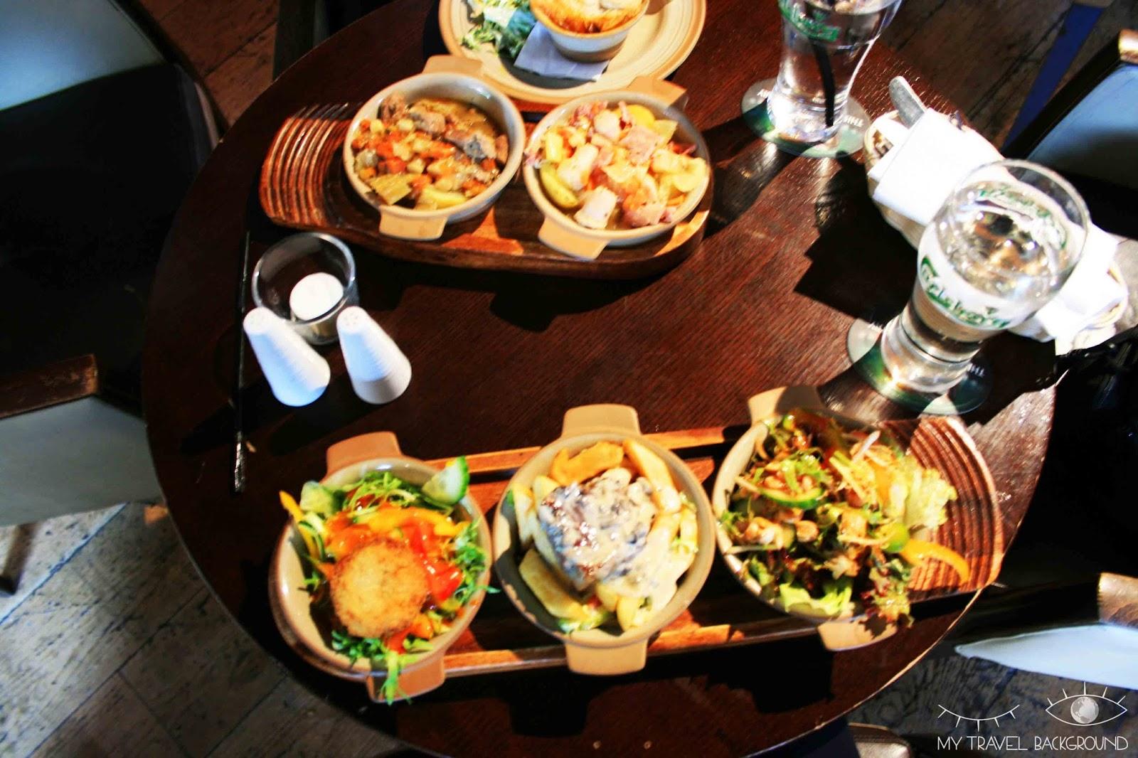 My Travel Background : 14 plats typiques dégustés en voyage - Tapas en Irlande, Dublin