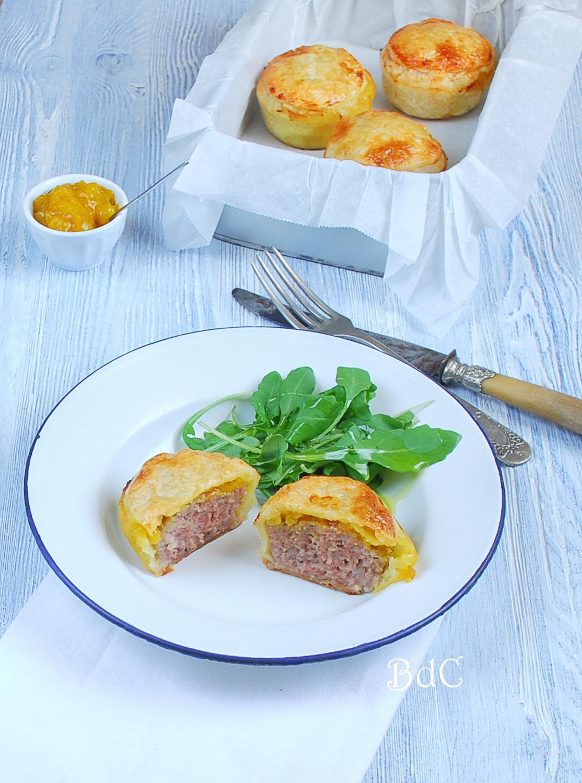 Pastel de cerdo con salsa Picalilli - El bistrot de Carmen