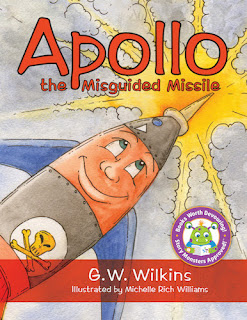 Apollo the misguided missile childrens books