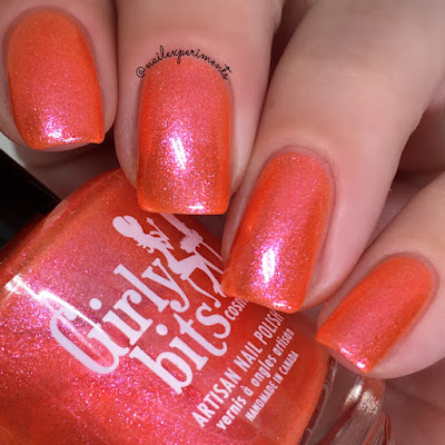 girly bits summer crush swatch may 2018 colour of the month