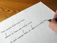 Definisi dan arti penting dari sebuah tulisan