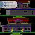 مخطط منزل كبير دوبلكس 5 اوتوكاد dwg