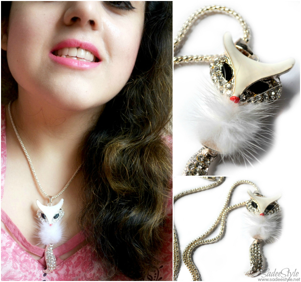 Fashion Fox Necklace