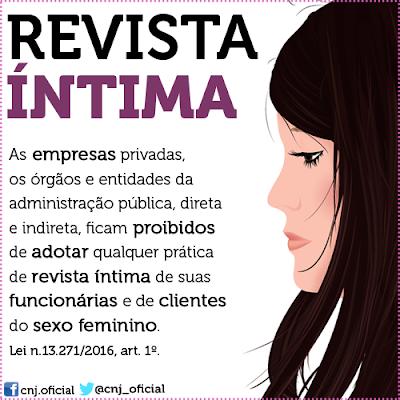 Revista íntima feminina proibida