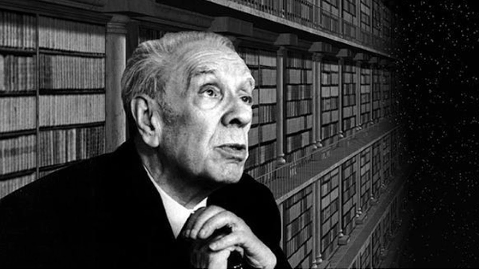 Borges in the Library
