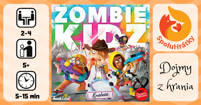 Recenzia hry Zombie Kidz Evoluce na blogu www.spoluhratky.eu