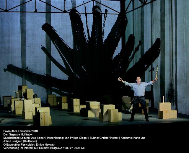 Wagner: Der fliegende Holländer - John Lundgren - Bayreuth Festival (Photo Enrico Nawrath)