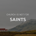Church is Not for Saints