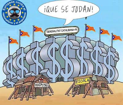 Que se jodan, que es fotin, Generalitat Catalibana, 4%