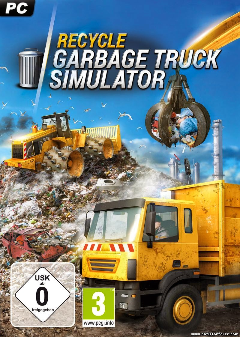 Cover Caratula Recycle Garbage Truck Simulator PC