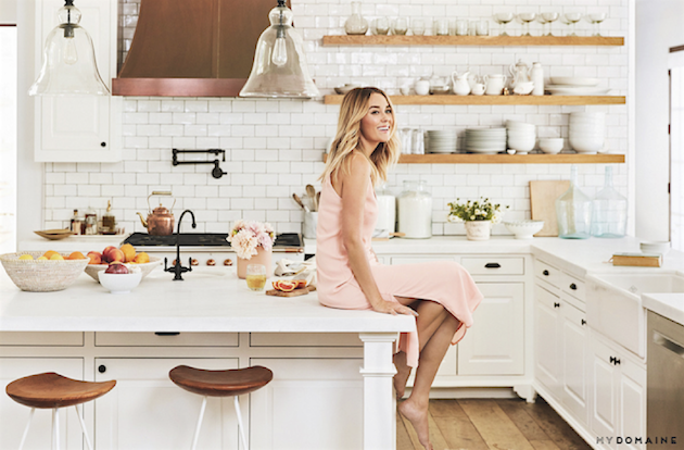Lauren Conrad L.A. Home | via Domaine Home