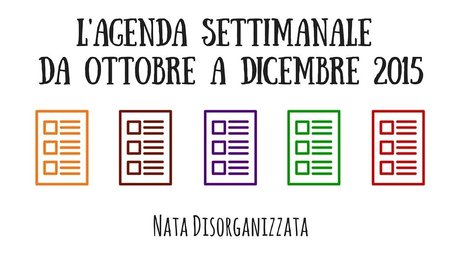 Favorito Nata disorganizzata: Refill gratuiti per l'agenda: planner  BT46