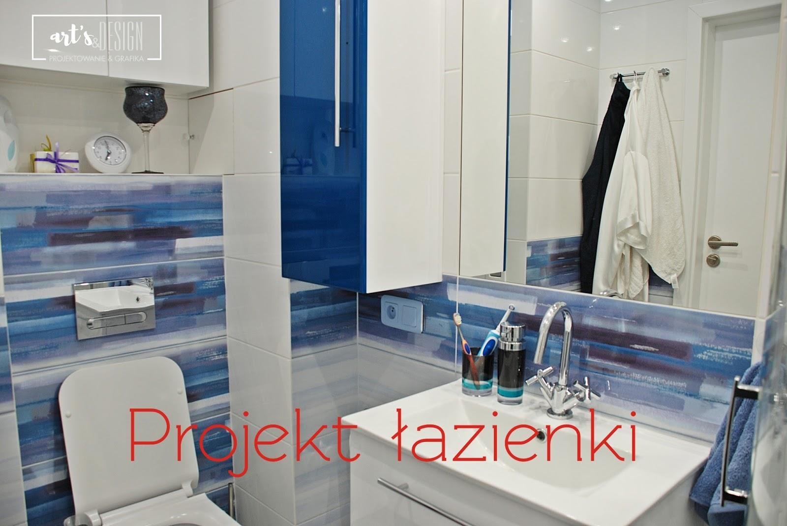 Projekt Małej łazienki Artidesign