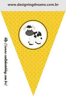 Funny Cow Free Printable Banner.