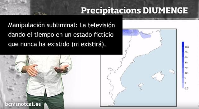 Manipulación de la población catalana en televisión.