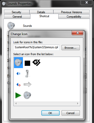 Create Volume Mixer & Sound Settings Shortcuts, Pin to Taskbar | SumTips