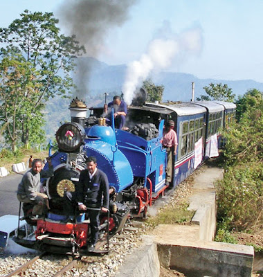 Darjeeling toy train steam engine