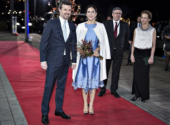 Prince Frederik and Crown Princess Mary presented The Crown Prince Couple's Awards to Cecilie Bahnsen