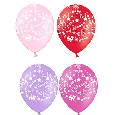 воздушный шарик для новорожденных