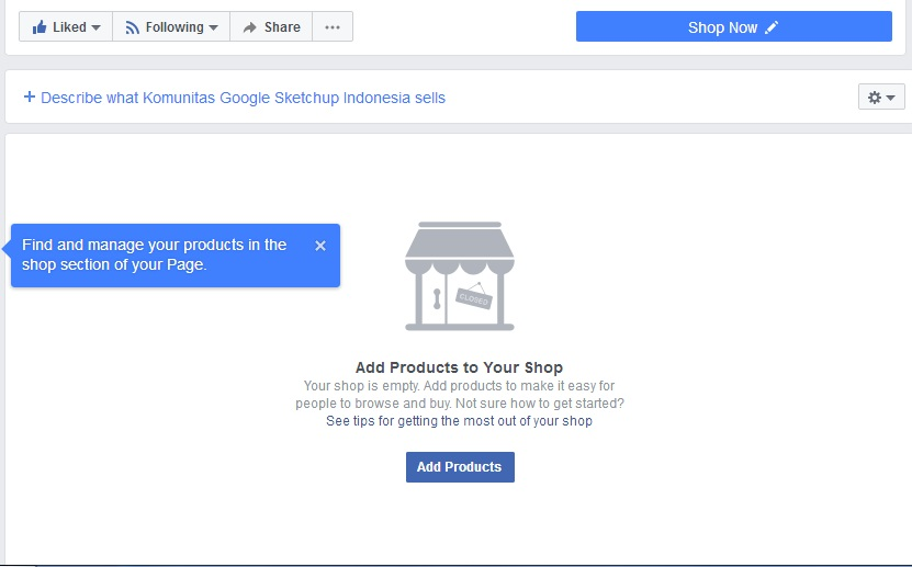 Add shop to facebook page - Best Facebook Ads