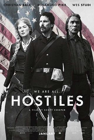 Hostiles 2017 English 350MB WEB-DL ESubs 480p Full Movie Download Watch Online 9xmovies Filmywap Worldfree4u