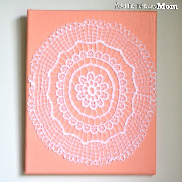 Coral Doily Art