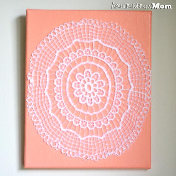 Coral Doily Art