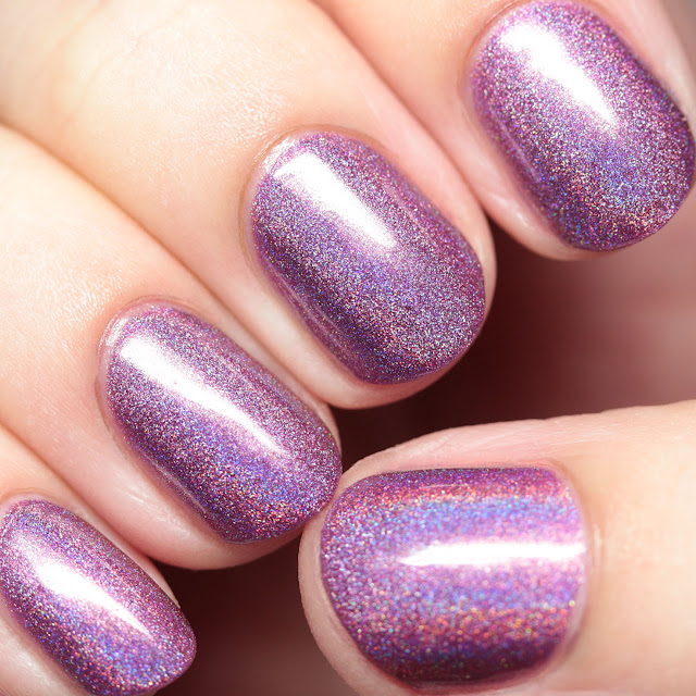 Grace-full Nail Polish Purple Lotus