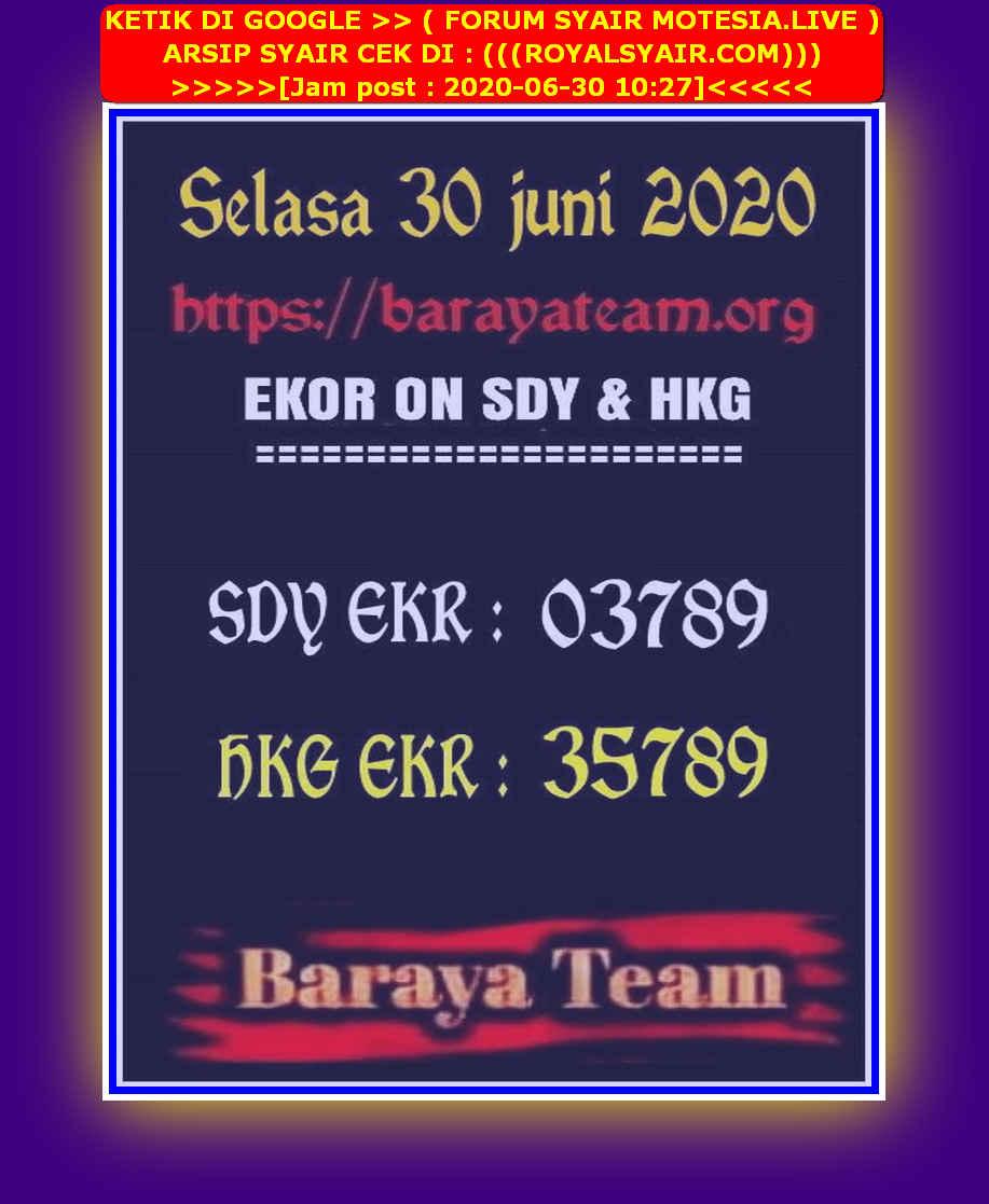 Kode syair Sydney Selasa 30 Juni 2020 248