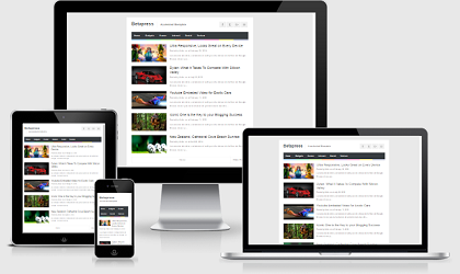 Betapress Adsense Blogspot Template