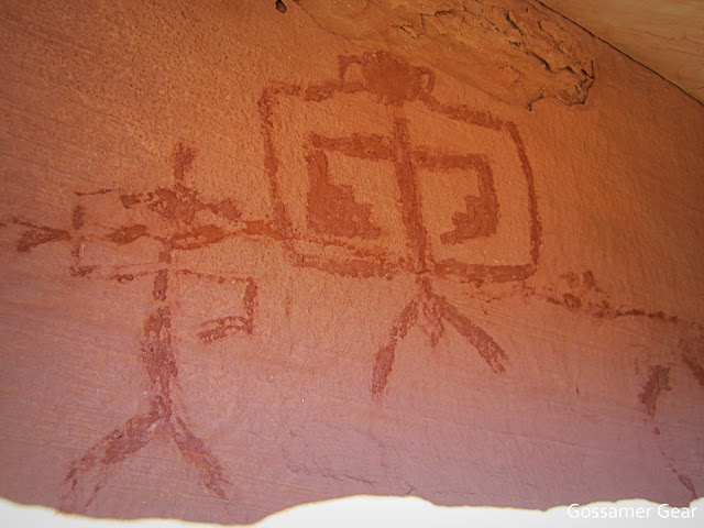 bullet canyon pictographs